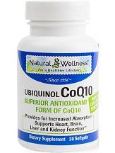 Natural Wellness Ubiquinol CoQ10 Review