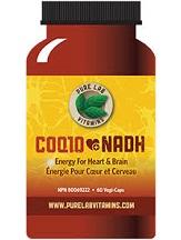 Pure Lab Vitamins COQ10 + NADH Review