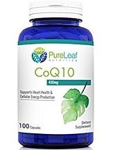 Pure Leaf Nutrition CoQ10 Review